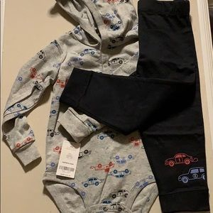 NWT 2-piece Carter's Racing Outfit